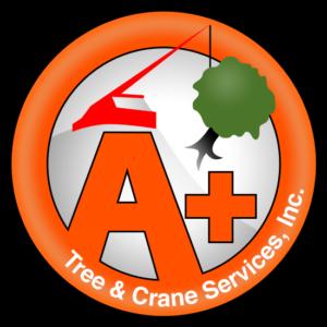 A+ Tree & Crane Service Logo
